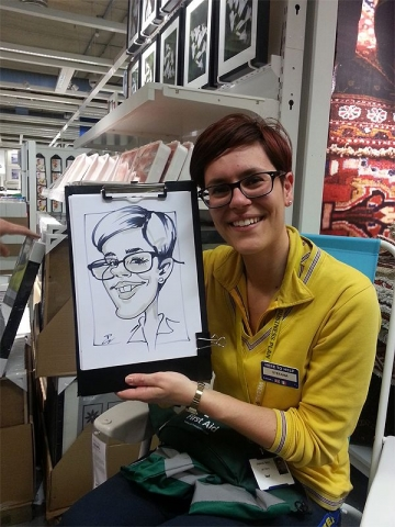 Caricatures for IKEA