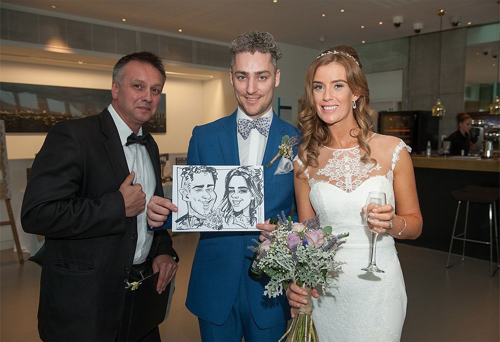 Caricature artist London