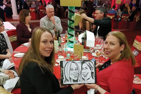 Party Caricature entertainment