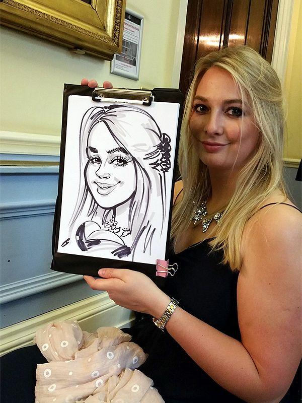 Party caricaturist