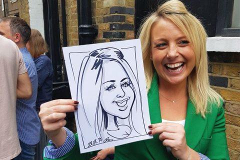 Caricature art London