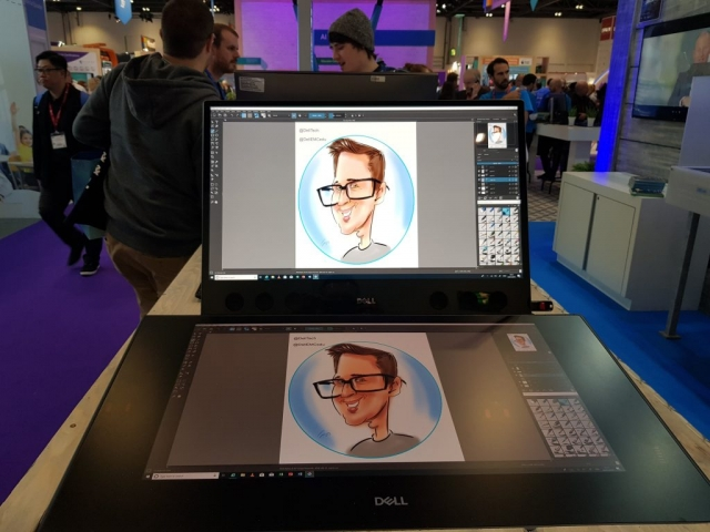 Caricatures for Dell