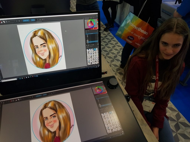 digital entertainment on Dell Canvas at ExCel London